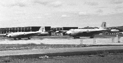 supplied by Peter Thompson Australian Canberras at Tengah 1956
